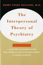 Interpersonal Theory of Psychiatry by Harry Stack Sullivan (1968, Paperback,...