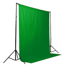 Green Color Screen Chromakey Backdrop 6x9 Muslin Video Background High Quality