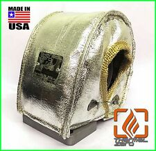 T3 T4 SMALL TURBO BLANKET HEAT SHIELD COVER T04E .48 .50 .63 A/R CHROME USA MADE