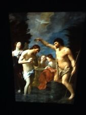 "Guido Reni ""Battesimo Di Christo "" 35mm Italian High Baroque Art Slide"
