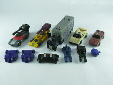 Transformers Original G1 Menasor Motormaster Dragstrip Stunticons Metal Chests