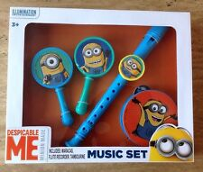 Despicable Me Minions  Music Set Musical Toy Instruments NEW 2015