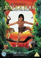 SECOND JUNGLE BOOK MOWGLI & BALOO DVD LIVE ACTION MOVIE FILM RUDYARD KIPLING NEW