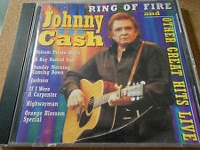 CASH,JOHNNY-RING OF FIRE AND OTHER GREAT HITS-CD COUNTRY STARS NEW