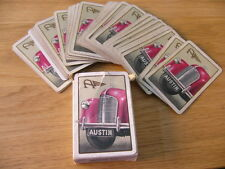 AUSTIN MOTOR CARS PACK OF PLAYING CARDS SHOWROOM ADVERTISING A7 A10 A30 A35 A40