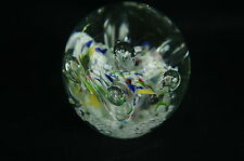 Beautiful Vintage Art Glass Paperweight Murano ? [Y8-W6-A8-E8]