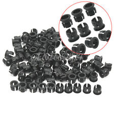 100 Pieces 5mm Plastic LED Clip Holder Display Panel Mount Mounting Case