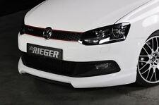 Rieger Front Becquet Lèvre pour vw polo 6r GTI jusqu'à Facelift