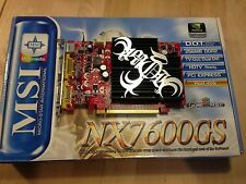 MSI NX7600GS-T2D256EH - 256MB DDR2 memory