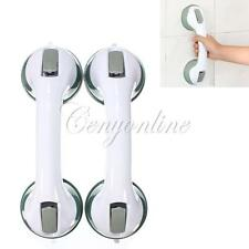 2Pcs Safety Shower Support Handle Bar Twin Super Grip Rail Suction Cup Mount