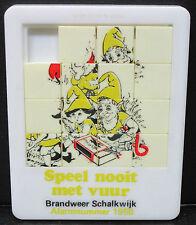 Slide Puzzle - Netherland Brandweer Schalkwijk 1950 - Schiebepuzzle (Lot-j-315