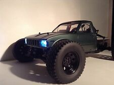Axial Yeti 1/10 Custom Mojave Body and Upgraded Wheels ARTR
