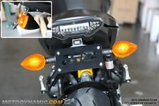14 15 16 Yamaha FZ-09 FZ09 Complete Fender Eliminator Kit w/ LED Plate Light