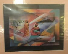 Art Print: 2 Maasai Women And A Baby 11 X 14 PRINT READY TO FRAME