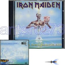 "IRON MAIDEN ""SEVENTH SON OF A SEVENTH SON"" RARE CD MADE IN ITALY - MINT"