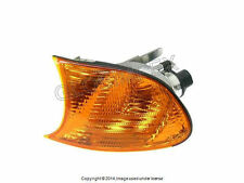 BMW E46 Turn Signal Light with Yellow Lens Left / Driver Side Front OEM NEW