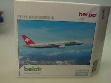 Herpa Wings B757-200 belair SWISS mit Regi - 510226 - 1/500