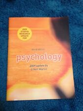G NEIL MARTIN, PSYCHOLOGY. THIRD EDITION. 2009 UPDATE. 9780373727583