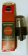 Electronic Tube - 6AX5GT - NATIONAL ELECTRONICS TUBE  - New in Box - NOS