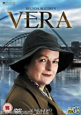 VERA COMPLETE ITV SERIES 2 DVD All Episodes Second Season New Sealed UK R2 Rel.