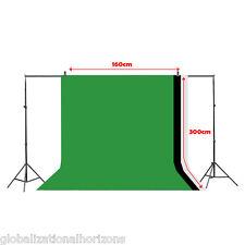 New Portable Photo Background Photography Studio Non-woven Backdrop Screen Green