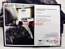 Department Store 1872 Florenza 400 Thread Count Cotton FULL / QUEEN Duvet Cover