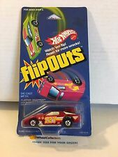 #11 Flipper Snapper * 1985 Hong Kong * FLIP OUTS Vintage Hot Wheels * M11