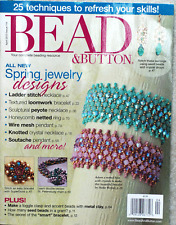 BEAD & Button magazine April 2013 issue 114  Bacatus