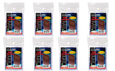 8 x 100 ct. Ultra Pro Premium Card Protector Sleeves Penny Plastic Clear