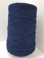 Wolle Stricken &häkeln |Bouclè Kone PES blau effektgarn 1,7kg  strickwolle |bp05