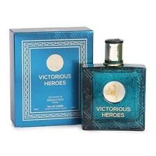 VICTORIOUS HEROES MEN'S EDT, 3.4 oz SPRAY, VERSION OF EROS BY VERSACE, NEW!