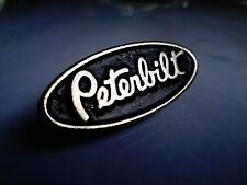 PETERBUILT Truck Pin Classic American Semi Driver Vintage Car Club Badge Patch