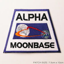 SPACE: 1999 - Moonbase Alpha Jacket Shoulder Uniform Patch -NEW - Space 1999