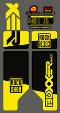 ROCK SHOX BOXXER 2010 FORK / SUSPENSION DECAL SET