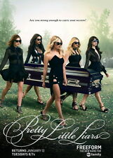 """1835 Hot Movie TV Shows - Pretty Little Liars 1 14""""x20"""" Poster"""