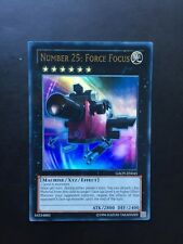 YUGIOH NUMBER 25: FORCE FOCUS ULTRA MIXED ED GOOD CONDITION GAOV-EN045