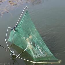 Net Mesh Crab Trap Fish Cast Cage Folding Six Holes Outdoor Fishing Accessory