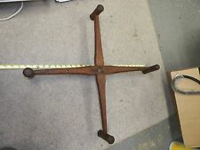 ANTIQUE PRIMITIVE WOODEN YARN WINDER SPINNING WHEEL WINGS DECOR REPURPOSE