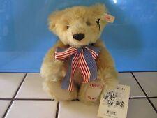 """STEIFF """"TEDDY""""S BEAR"""" MOHAIR BEAR~~ 1998 ~~ FULLY JOINTED W/ COA ~~ #2039 / 7500"""
