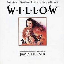 MUSIC CD James Horner - WILLOW Original Motion Picture Soundtrack USED 1988