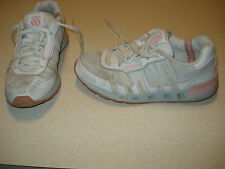 K SWISS TRUXTON MESH Womens Athletic Shoes Size 7 L@@K!!! WHITE PINK