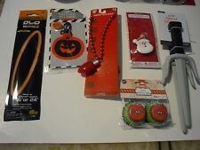 6 Christmas Holiday Decoration & Hallowen Necklace key Chain Ninja Dagger Cups