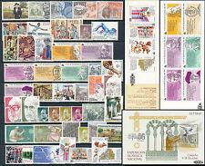 [20] España 1986 Año completo **MNH LUJO + 1 HB + 2 Carnets