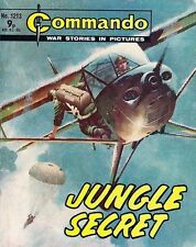 Commando For Action & Adventure Comic Book Magazine #1213 JUNGLE SECRET