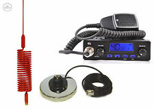 CB STARTER KIT TTI 550 CB RADIO CB ANTENNA MINI SPRINGER RED + MAGNETIC BASE