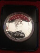 1977 Canada Silver Jubilee  One Dollar Silver Coin Uncirculated w/ Original Case