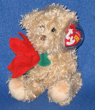 TY 2005 HOLIDAY TEDDY the BEAR BEANIE BABY - MINT with NON MINT TAG - SEE PIC