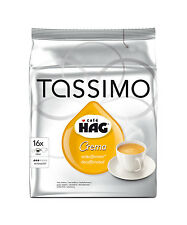 Tassimo Cafe Hag Crema Coffee Decaffeinated 16 T-Discs