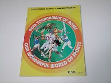 VG 1979 Official Tournament of Roses Parade Souvenir Program Honda USC vs Mich
