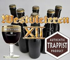 /! Very RARE/! 6 Belgian Trappist beer bottles of Westvleteren 12 XII GOLD ABT